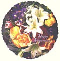 Anniversary Flowers Balloon