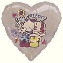 Cartoon Anniversary Balloon