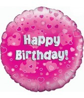 Flower Happy Birthday Balloon