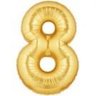 Gold Number 8