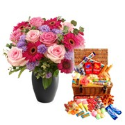 Mammy s Old Time Candy & Flower Gift Set