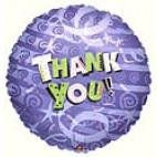 Thank You (Purple) Balloon