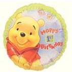 Pooh 1st Birthday Balloon