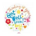 Get Well Soon - Rest Up Balloon