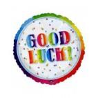 Good Luck Balloon White