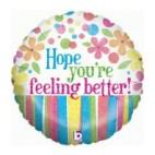 Hope You're Feeling Better Balloon