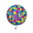 Good Luck Colourful Balloon