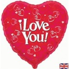 I Love You ! - 3 Valentines Day Balloon