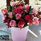 Mixed Bouquet In Pink Vase