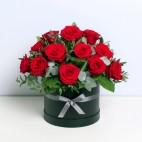 12 Rose Hatbox