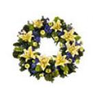 Lilac & Yellow Wreath