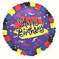 Bright Birthday Balloon