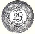 Silver Anniversary (25th) Balloon