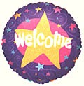Welcome With Stars Balloon