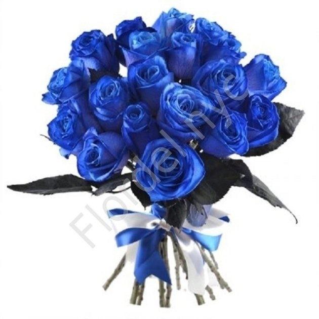 Dozen Blue Roses