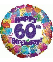 Happy 60th Birthday Balloon