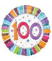 100th Radiant Birthday Balloon