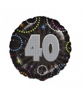 40th Birthday Time To Party Balloon