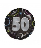 50th Birthday Time To Party Balloon