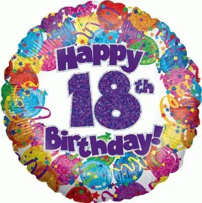Happy 18th Birthday Balloon