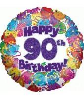 """Happy 90th Birthday"" Balloon"