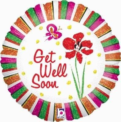 Get Well Soon Iris & Stripes