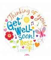 Get Well Soon - Rest Up Balloon