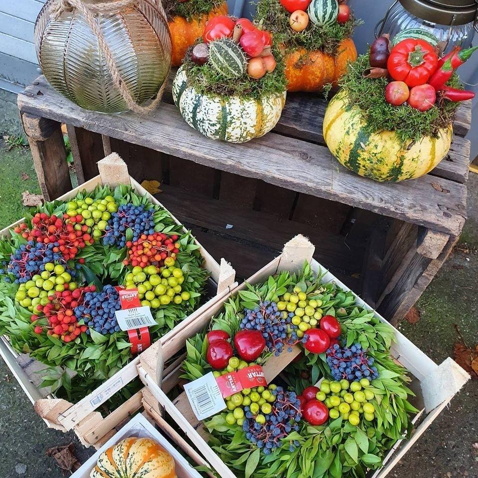 Autumn Berry Wreath