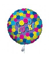 Good Luck Colourful Balloon