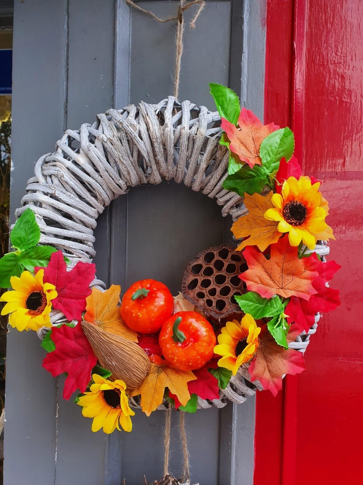 Large Autumnal Wreath