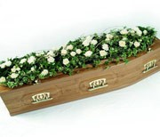 Rose and Ivy Casket
