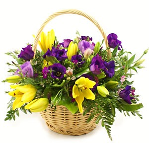 Spring Flowers And Baskets Spring Flower Bouquets Spring Flower